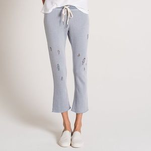n Philanthropy Distressed Crop Sweatpants